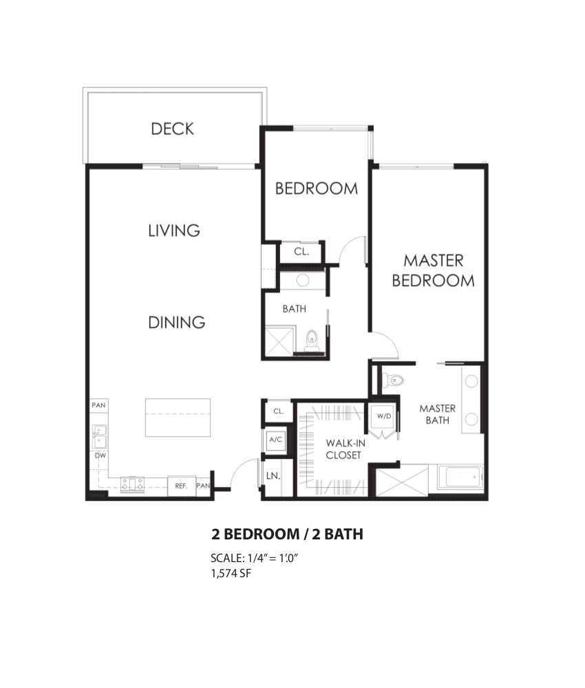 Floorplan C Living Out